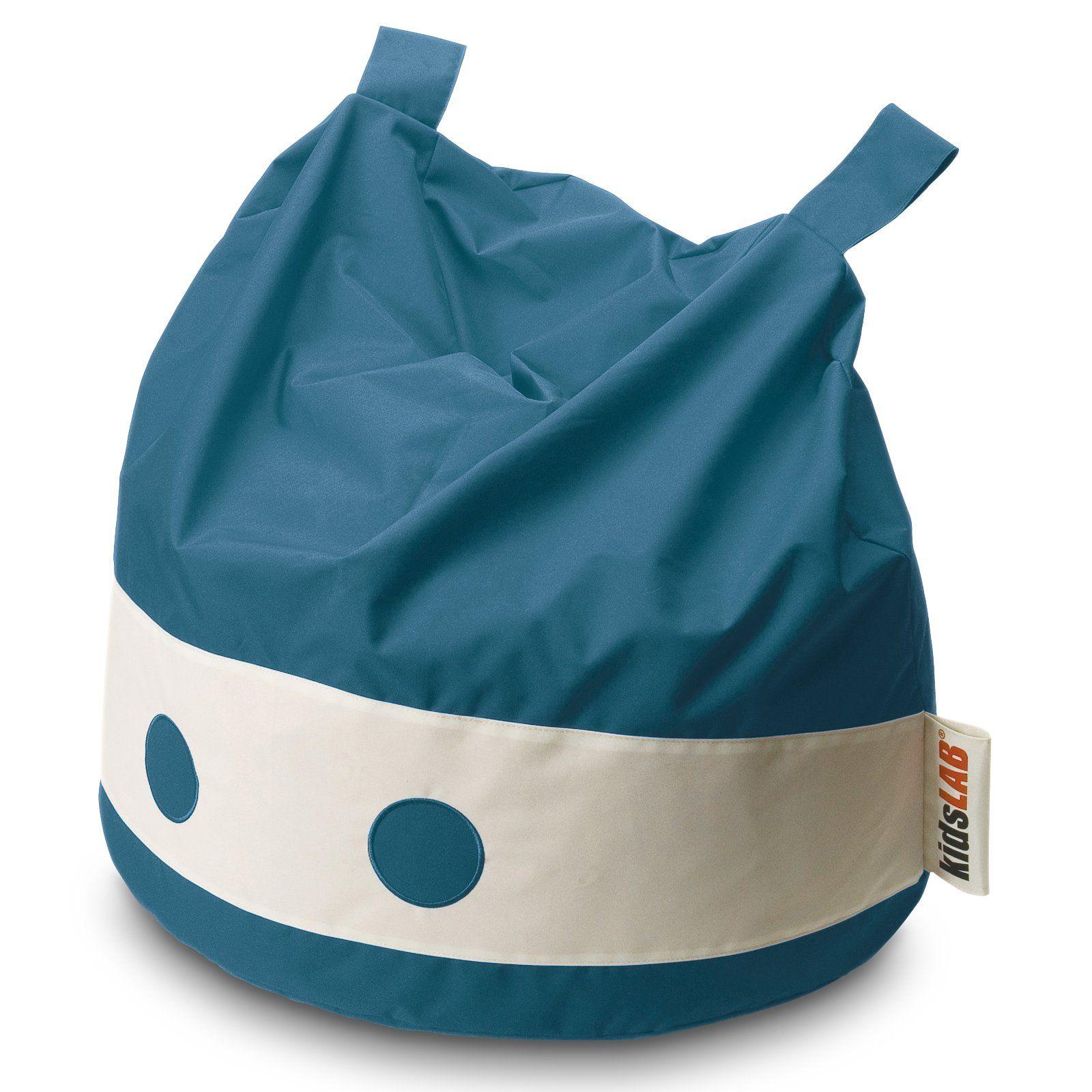 Modern Kids Ninja Beanbag Chair Blue Bean bag chair