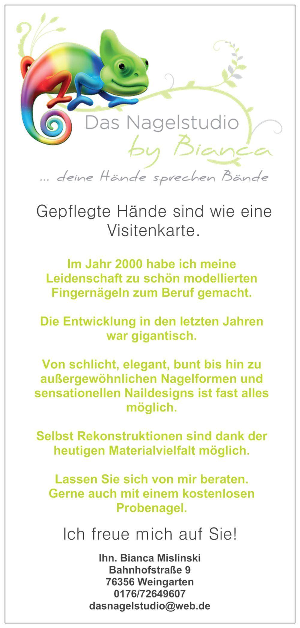 Pin Von Bianca Mislinski Schwitzer Auf Das Nagelstudio