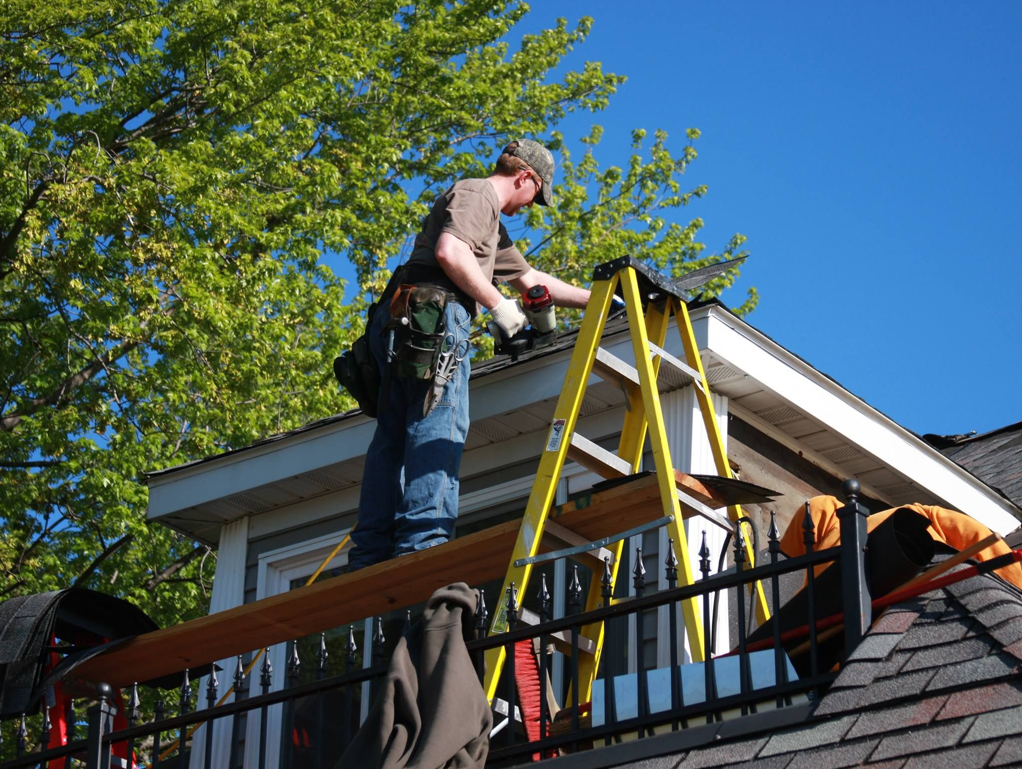Hail Damage Asphalt Shingles Nmc Roofing Repair Nmc Roofing Inspection Nmc Can Help If You Think Your Roofing Has Hail Damage Roof Repair Roofing Repair