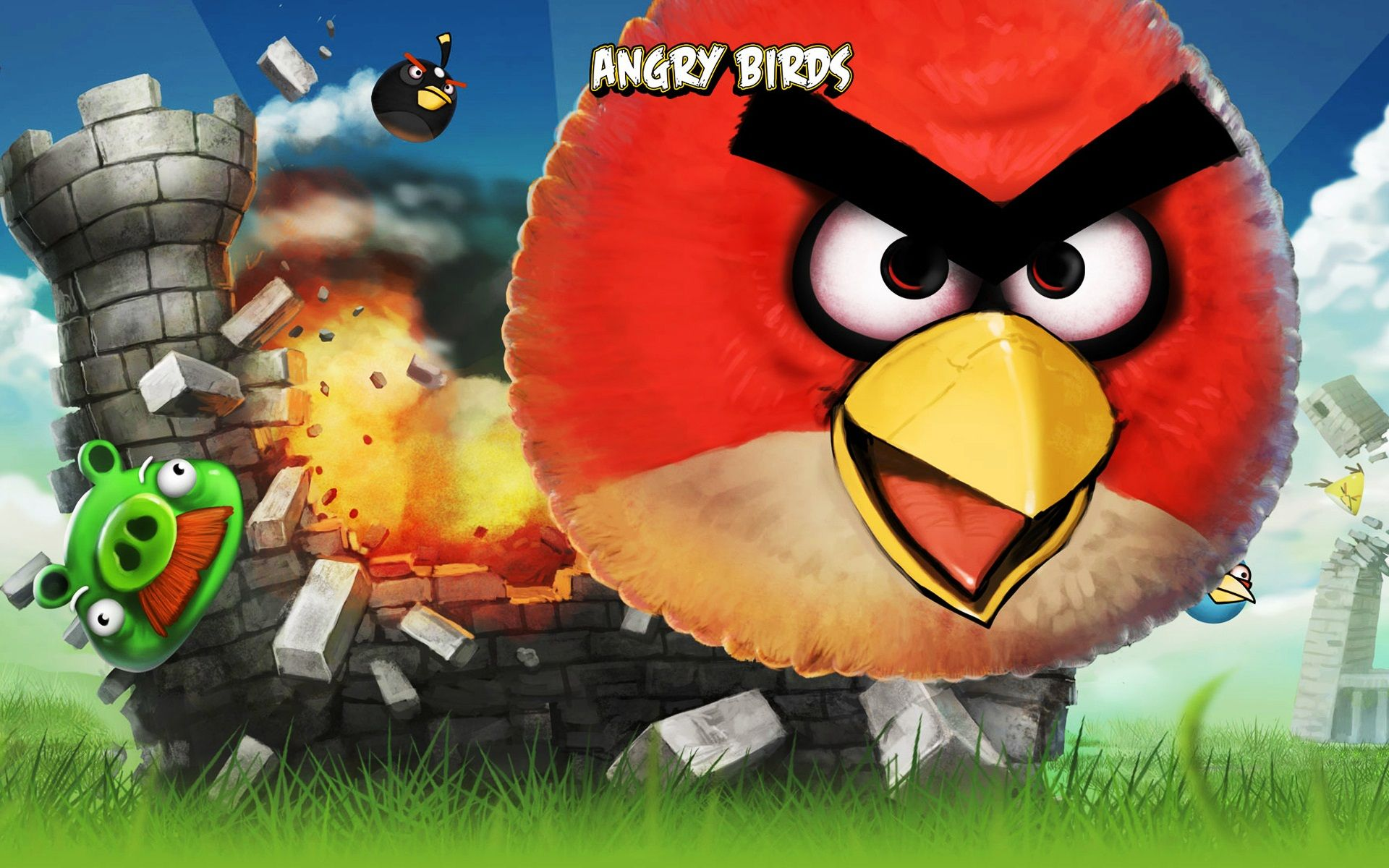 Happy Birthday With Images Angry Bird Pictures Angry Birds