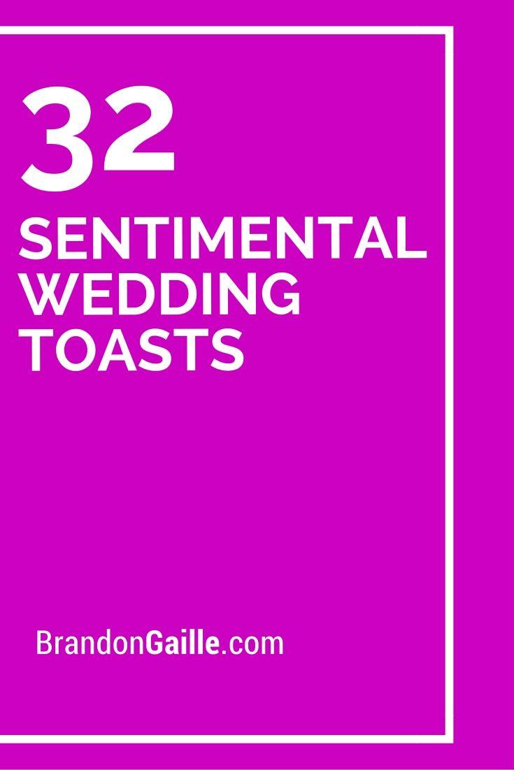 32 sentimental wedding toasts wedding toasts wedding