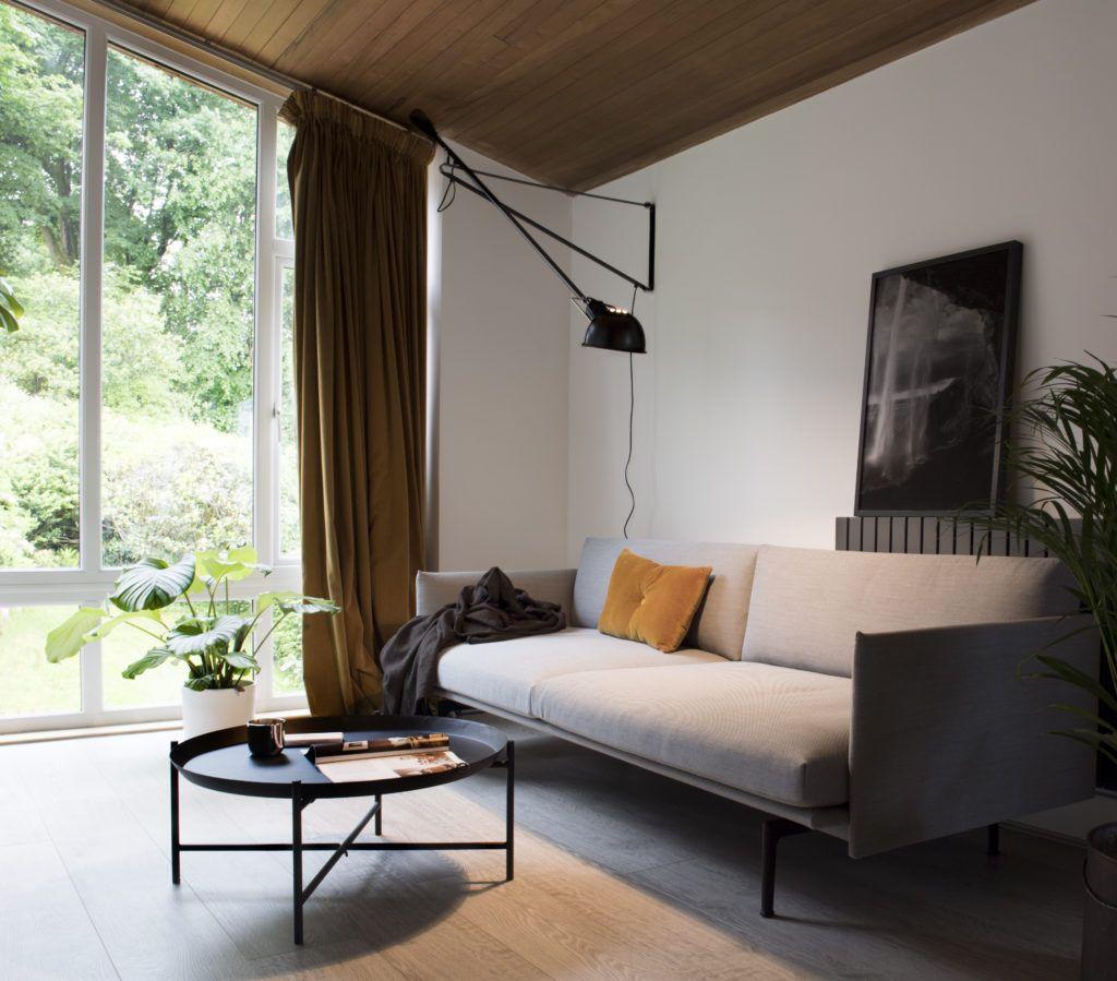 The 265 Flos In Our 70s Living Room Hege In France Inredning Lampor Belysning