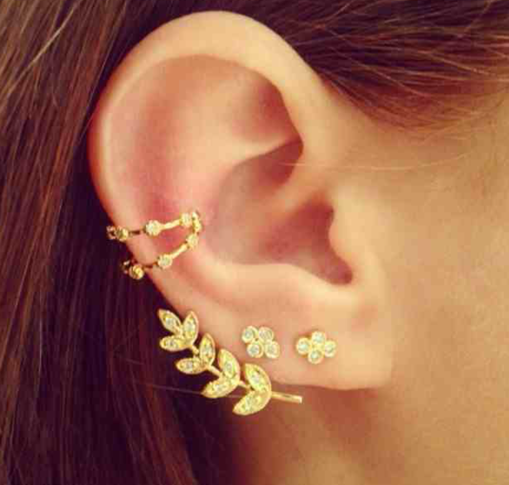 Might get my ears pierced again so I can where these!