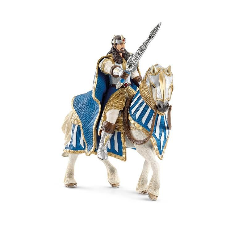 Chevalier Griffon Roi A Cheval Figurine Schleich 70119
