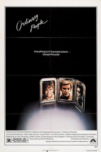Ordinary People Movie Poster - 1980