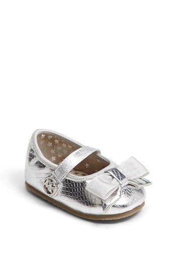 MICHAEL Michael Kors 'Grace' Crib Shoe