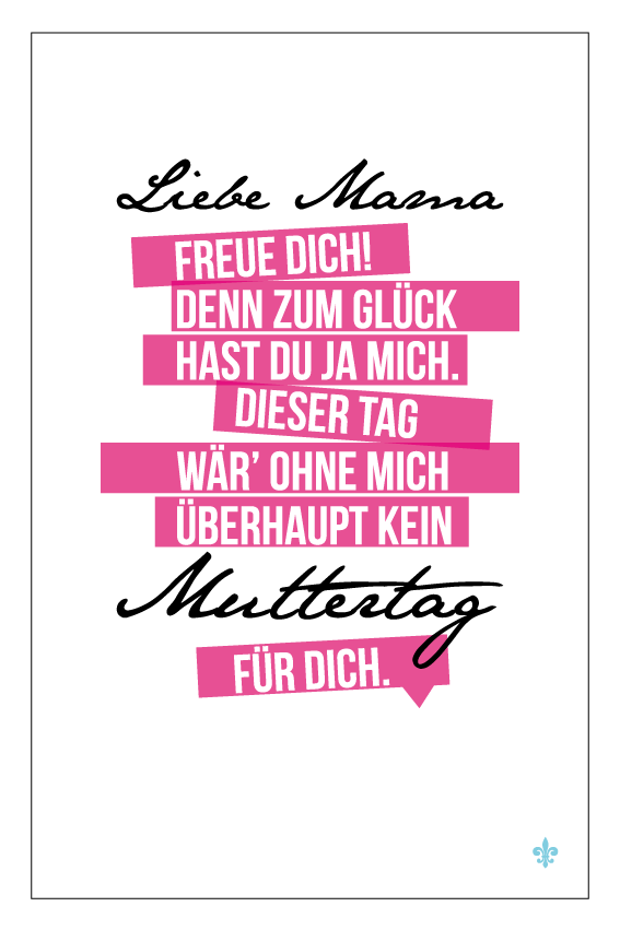 STIL ALLÜRE » Happy Muttertag – Grußkarte | Inspiration | Pinterest ...