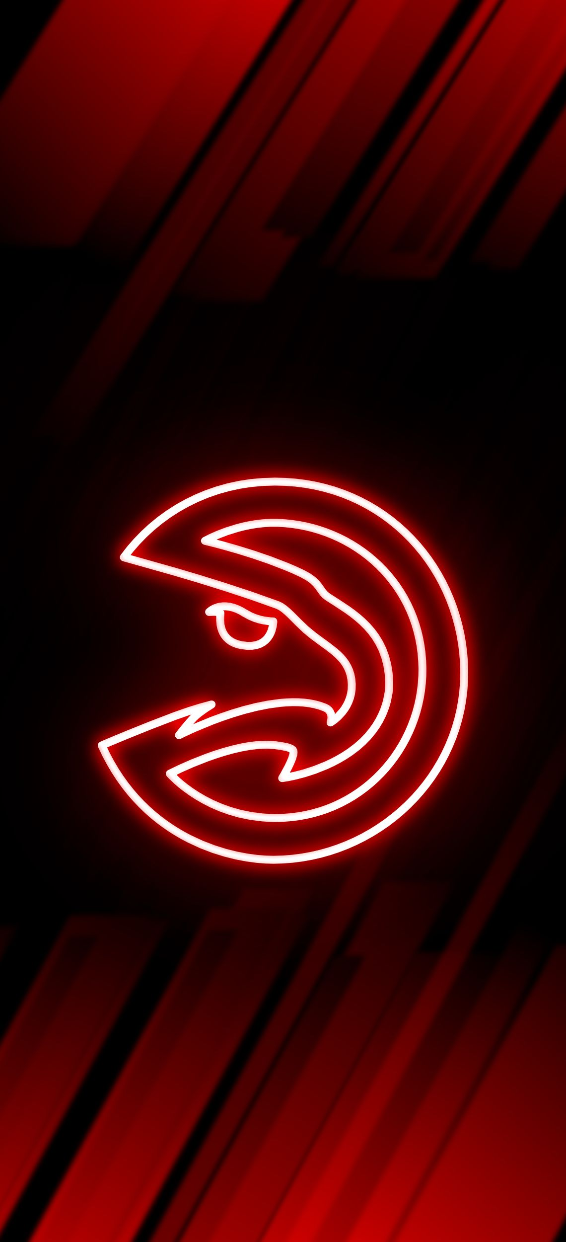 Atlanta Hawk Fluro Wallpaper Atlanta Hawks Atlanta Hawks Wallpaper Nba Basketball Teams