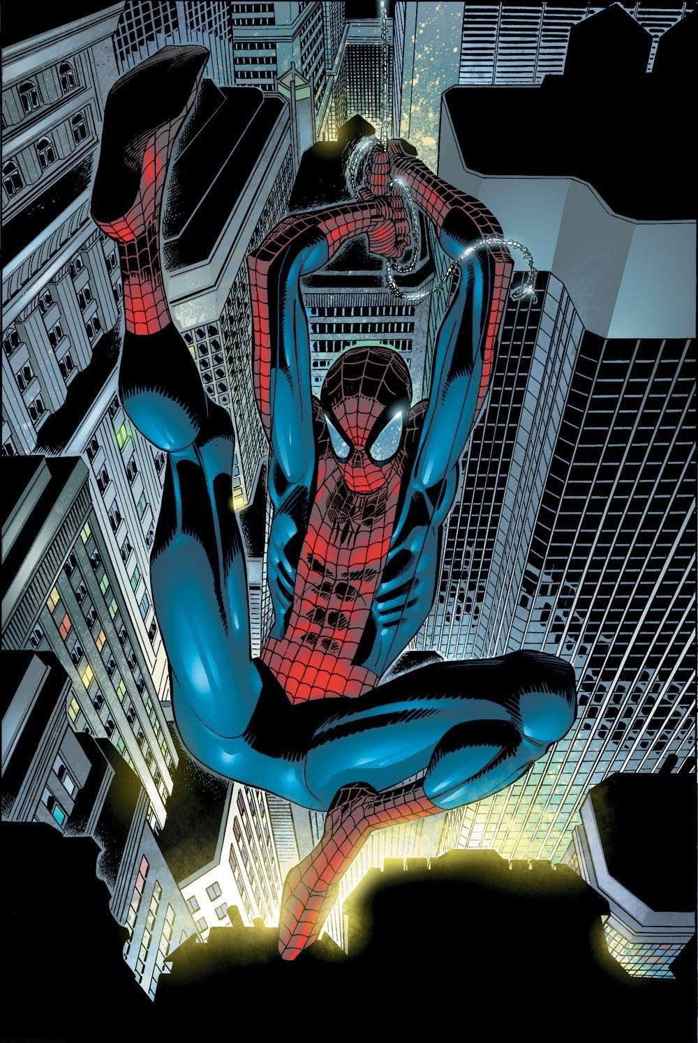 #Amazing #Spiderman #Fan #Art. (The Amazing Spider-Man) By: John Romita Jr. (THE * 5 * STÅR * ÅWARD * OF: * AW YEAH, IT'S MAJOR ÅWESOMENESS!!!™)[THANK Ü 4 PINNING!!!<·><]<©>ÅÅÅ+(OB4E)