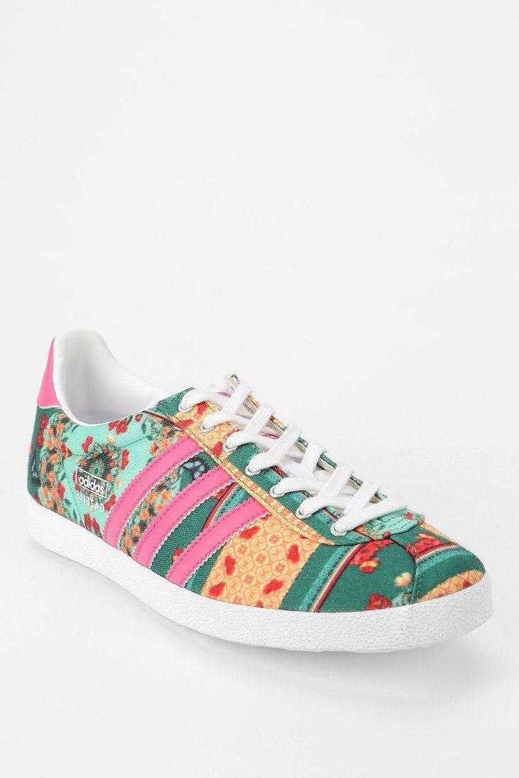 adidas Gazelle Floral Farm Sneaker | Fashion | Zapatos, Ropa