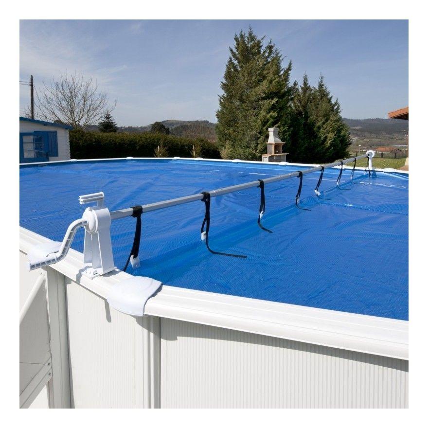 Rullo Avvolgitore per piscine fino a 6,50 m di larghezza