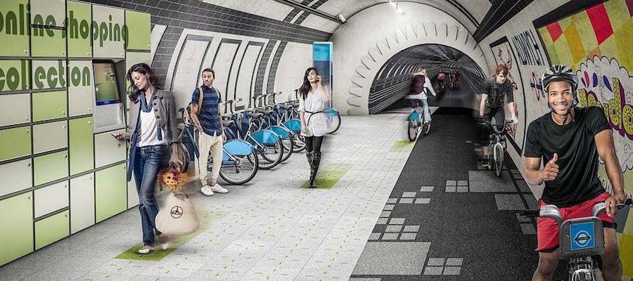London Underline-Piste ciclabili al posto della metropolitana?