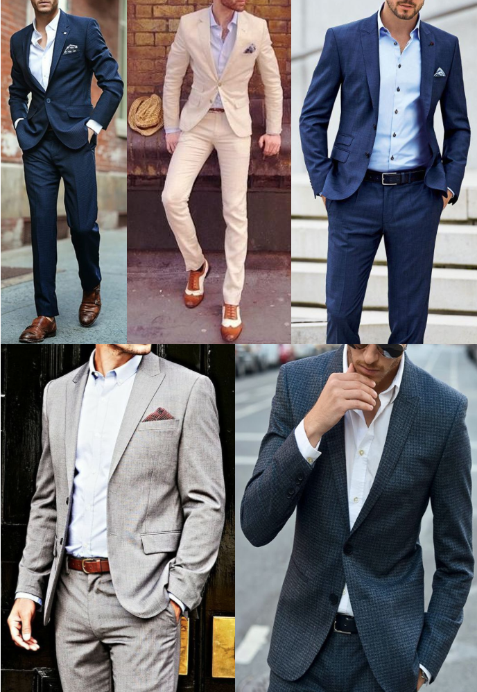 If/How to Wear a Suit Without a Tie