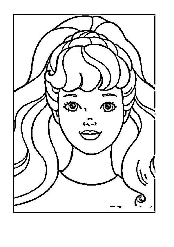 barbie 63 ausmalbilder für kinder malvorlagen zum