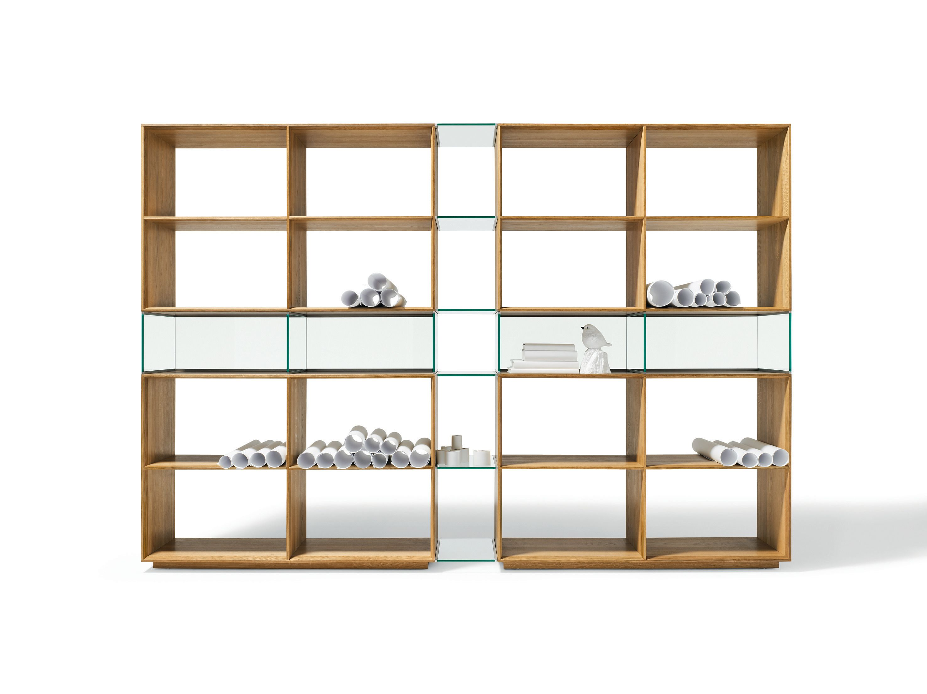 Accessories & Furniture Classic Modular Shelving Units With Light