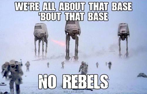 The Good Bye Vibe Ha Via Facebook On We Heart It Star Wars Humor Star Wars Memes Star Wars Day