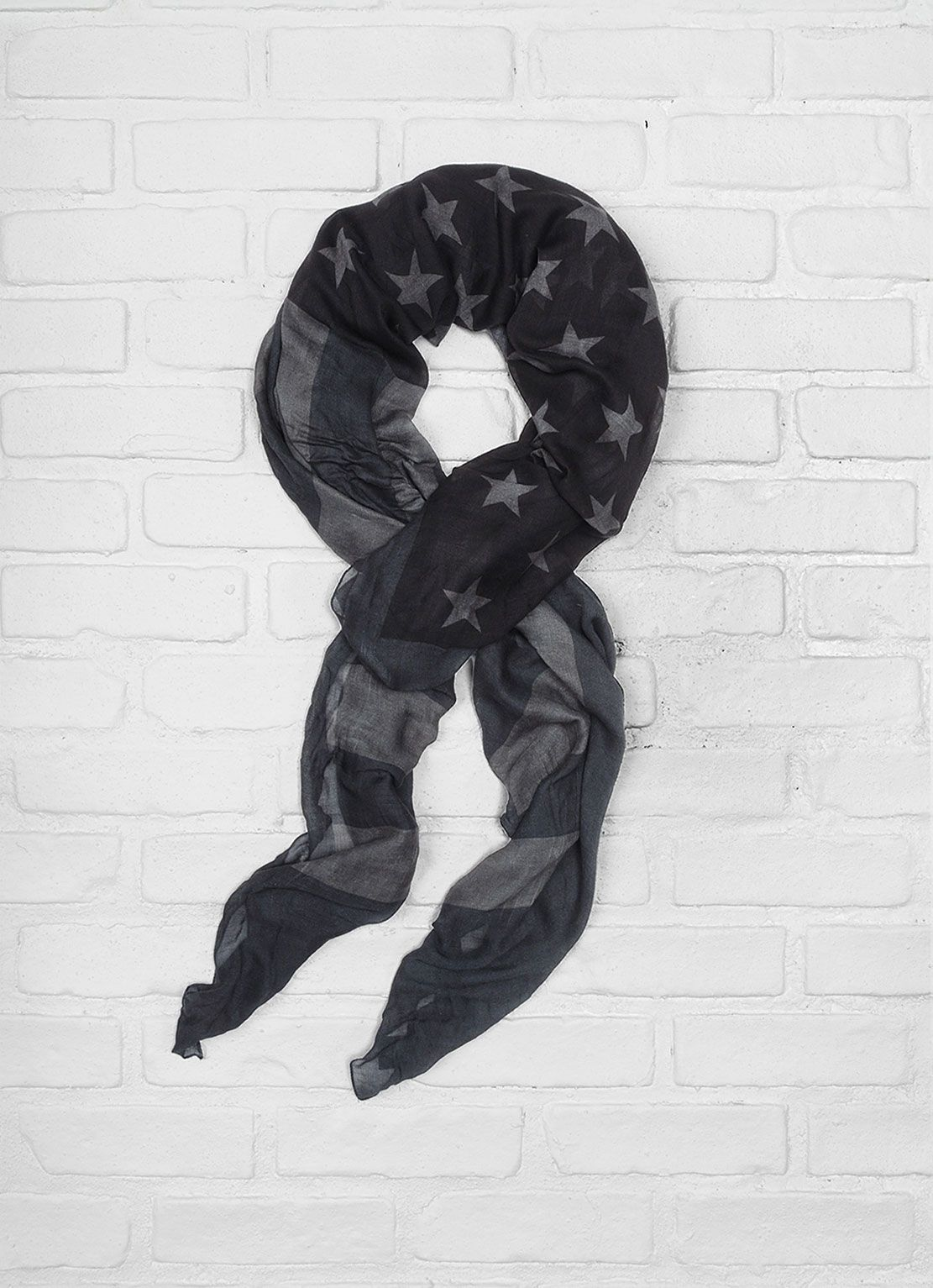 John Varvatos Antique Printed Flag scarf  http://www.johnvarvatos.com/antique-printed-flag-scarf/d/4414C4645#