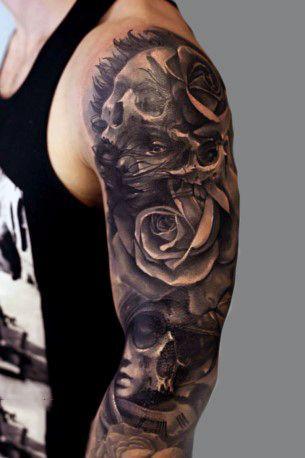 Top 35 Best Rose Tattoos For Men An Intricate Flower Arttattoos