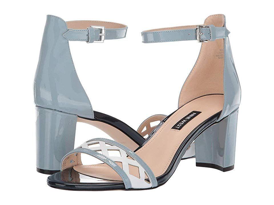 Nine West Paisley Heeled Sandal Women's Lace up casual Shoes