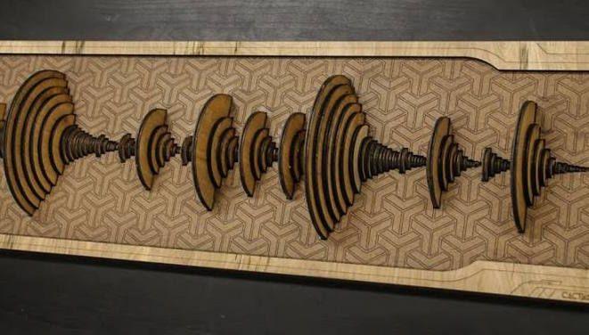 "You Can Now Buy a Wooden ""Amen Break"" Waveform"