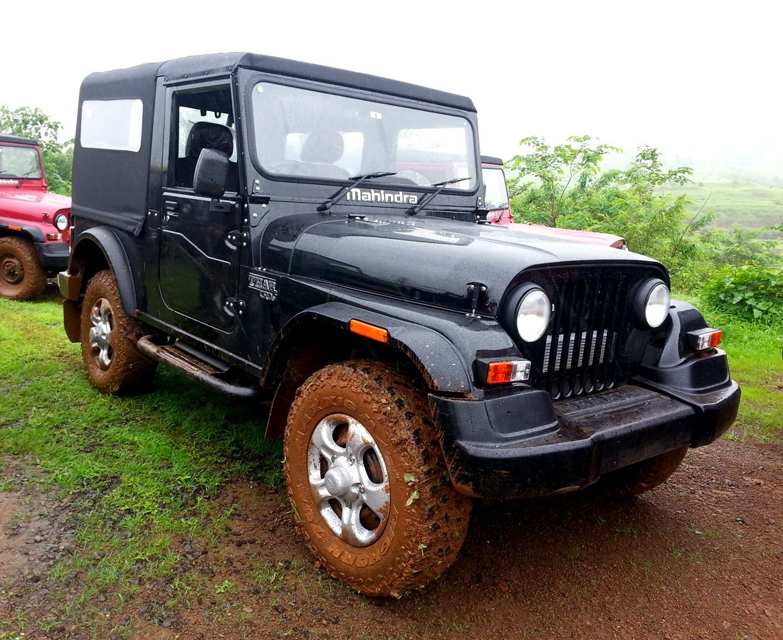 New Thar Crde Black Google Search Mahindra Thar Jeep Suv