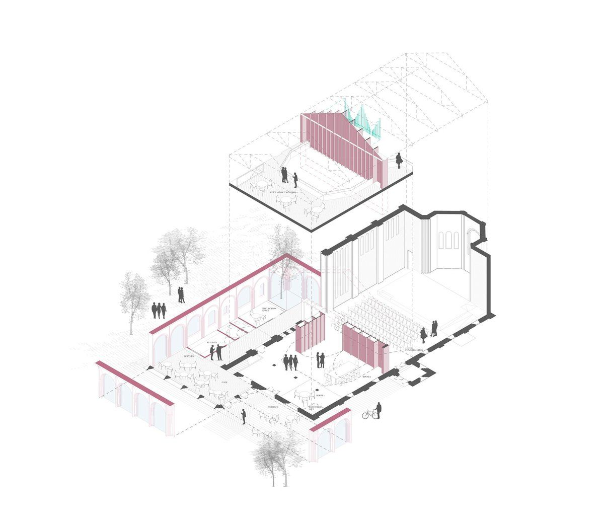 Axog architectural sketches drawing pinterest axog architecture illustrationsarchitecture graphicsarchitecture drawingspresentation stylesarchitecture diagramsarchitectural pooptronica Images