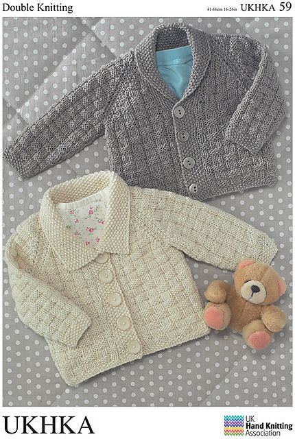 Ravelry: Cardigans in Double Knitting pattern by UK Hand Knitting ...