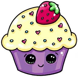 Cupcake Artdrawings Kawaii Drawings Kawaii Art Cute Drawings