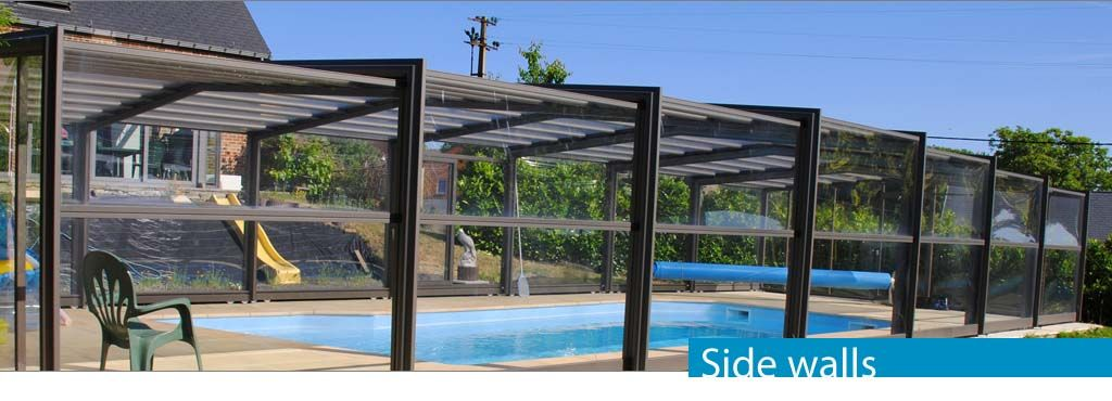 The Side Walls Of Pool Cover Swimming Pool Enclosures