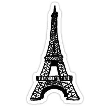 Eiffel Tower Sticker By Rickilynn In 2021 Ladybug Birthday Party Miraculous Ladybug Party Ladybug Birthday