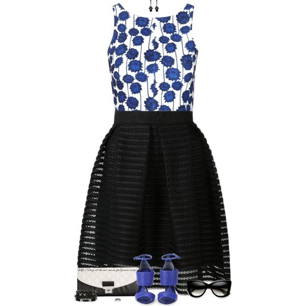 High-Low Summer Style by stay-at-home-mom on Polyvore featuring Topshop, McQ by Alexander McQueen, Calvin Klein, Mixit and Bridge Jewelry