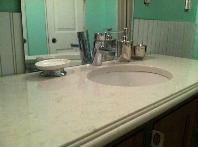 Pics silestone lagoon alt to torquay or misty cararra for 0 kitchens and bathrooms