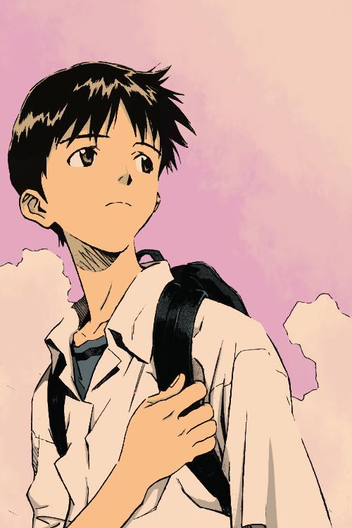 dessin de Shinji