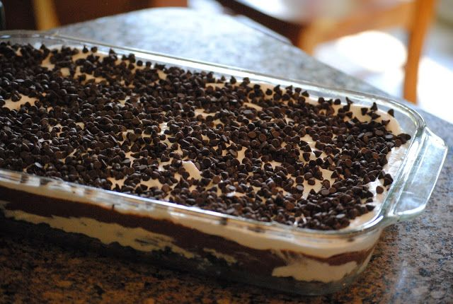 Raising Future Esthers: Oreo Surprise (AKA: Chocolate Lasagna)