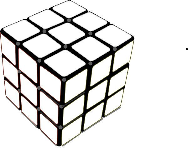 I Could Actually Solve This One Rubicks Cube Cube Pattern