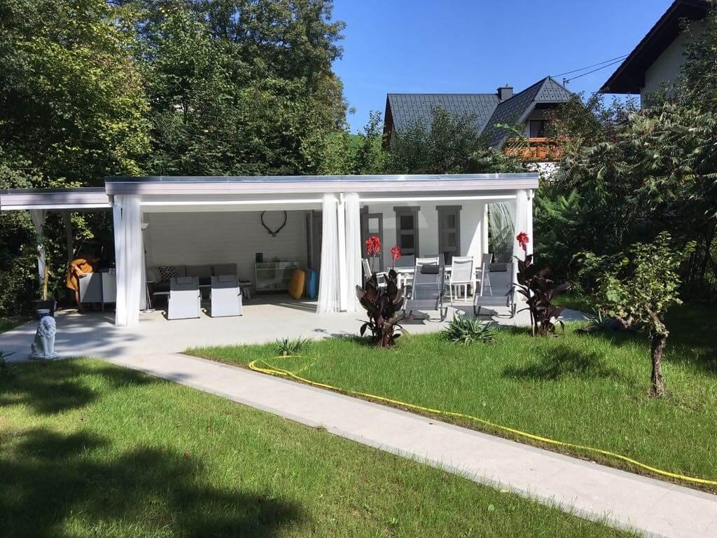 Gartenhaus Panama40 Giardino