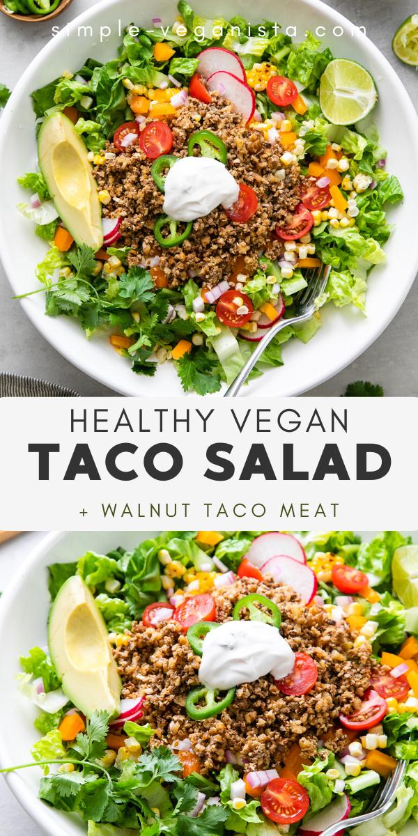 Vegan Taco Salad Recipe Healthy