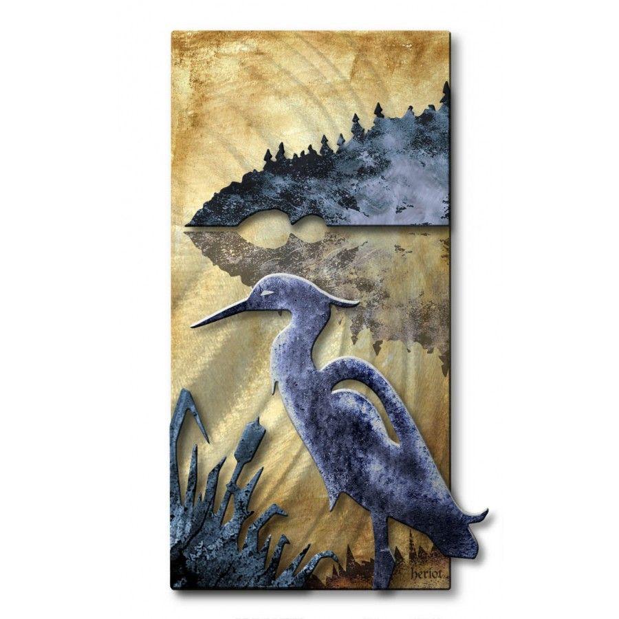 All my walls blue herring wall art nor classic crib in