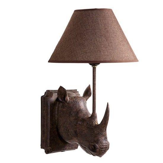 Rhino wall light from Graham and Green | Bedroom lighting | PHOTO GALLERY | 25 Beautiful Homes | Housetohome.co.uk
