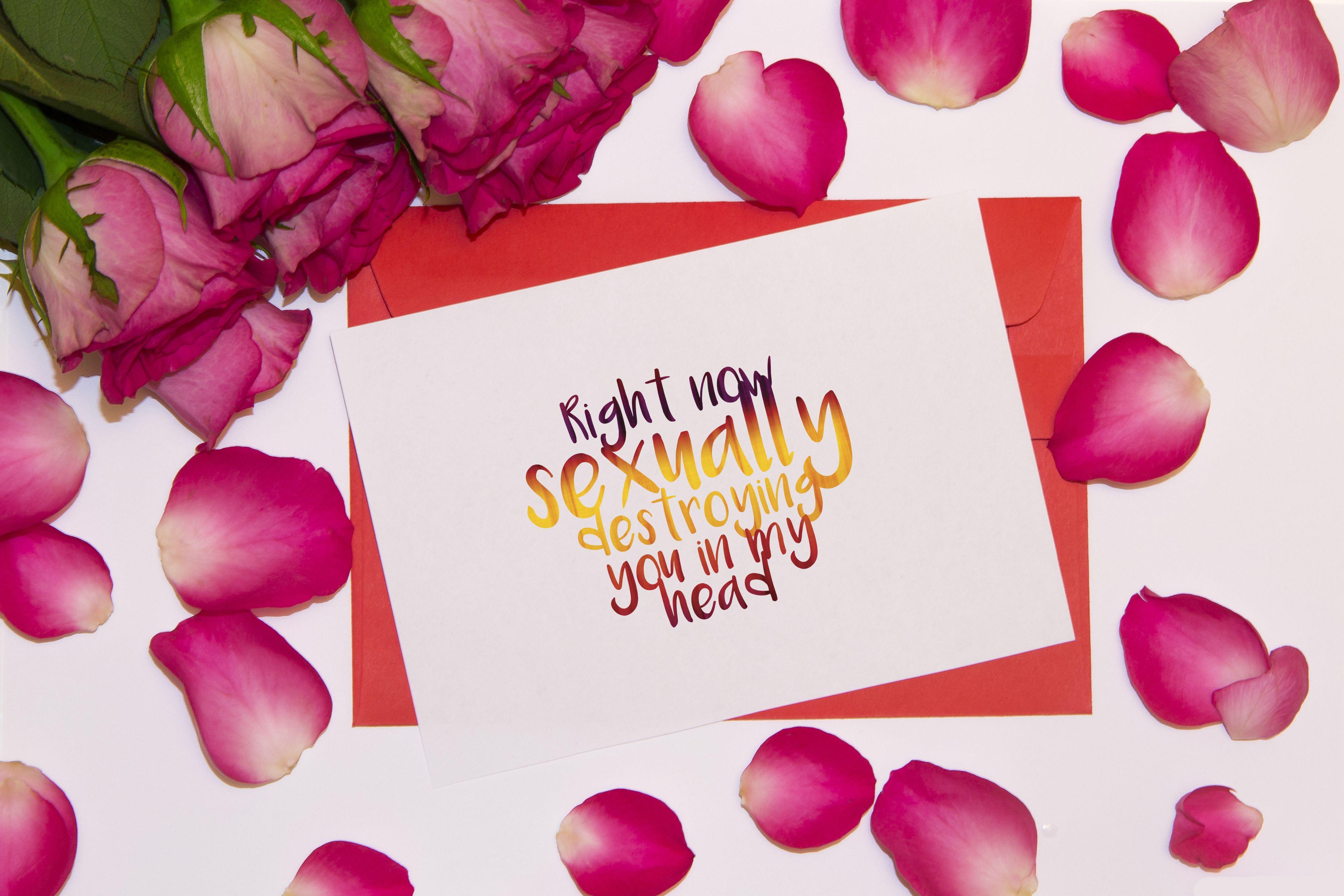 Printable Sexy Card Anniversary Card Romantic Card Wedding