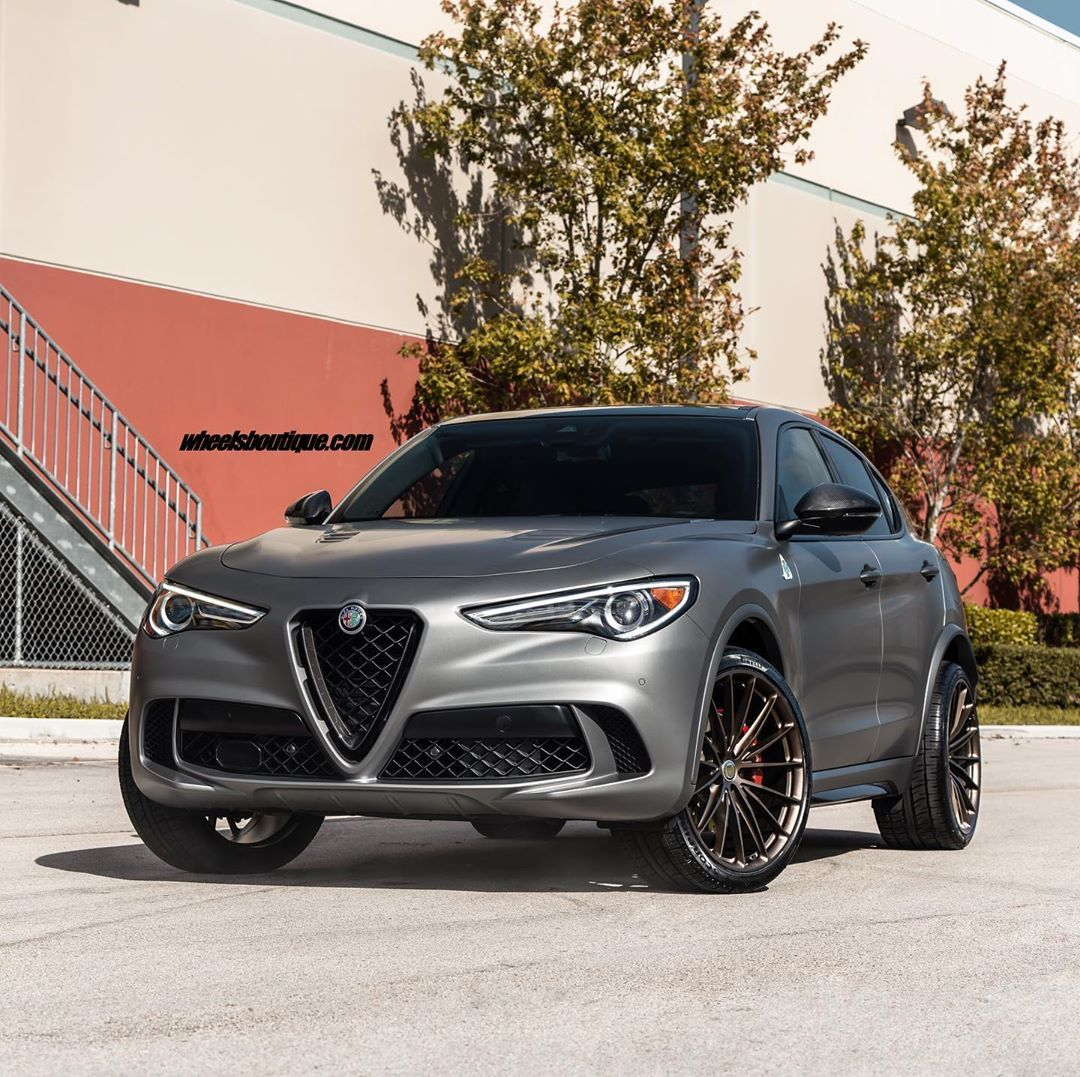 Wheels Boutique On Instagram Some People Are Alright And Others Want To Be The Coolest In The Block Choose The La Alfa Romeo Stelvio Alfa Romeo Romeo