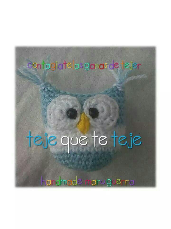 Buho escarapela | virkkaus/crochet | Pinterest | Tejido, Patrones ...