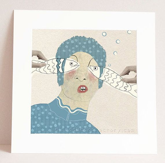 Hey, I found this really awesome Etsy listing at https://www.etsy.com/listing/166596234/giclee-print-looking-through-fish-eyes