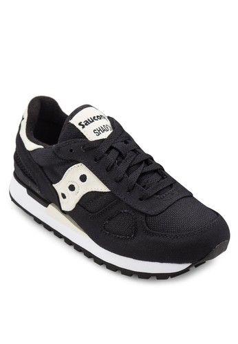 Women Shadow Original Vegan Sneakers from Saucony in black_1