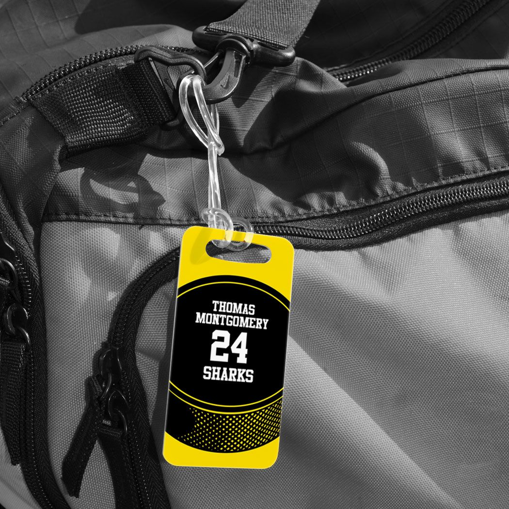 Hockey Bag Luggage Tag Personalized Hockey Team Puck Hockey Bag Luggage Tags Luggage Bags