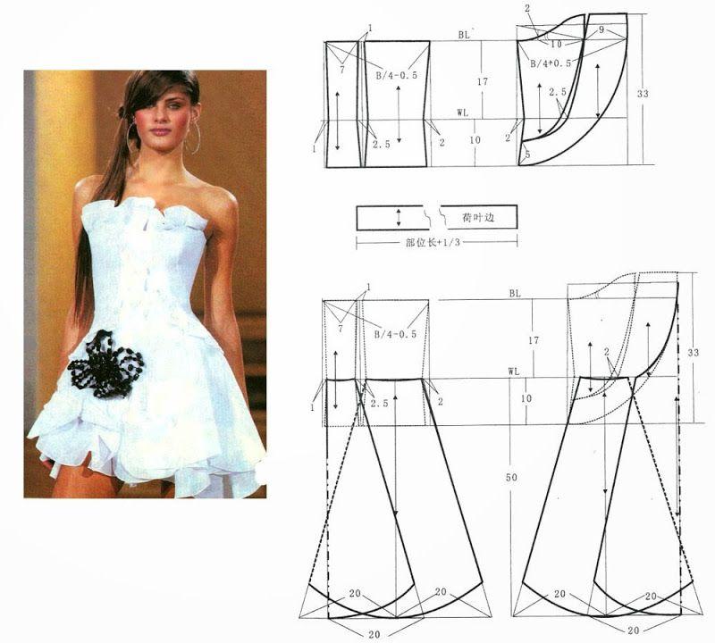 dresses (Chinese method of pattern making) - SSvetLanaV - Веб ...
