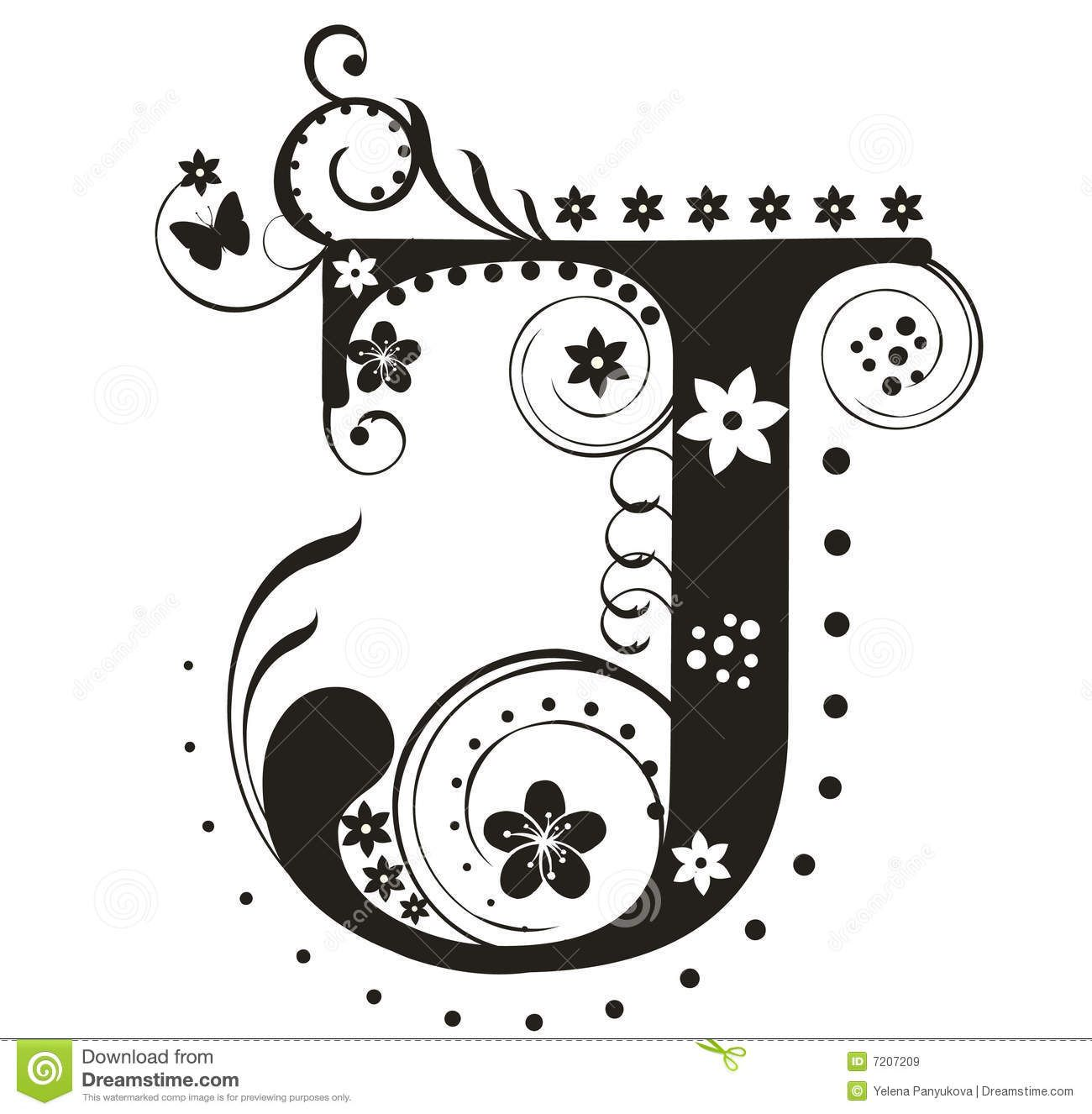 Letter J Royalty Free Stock Images - Image: 7207209