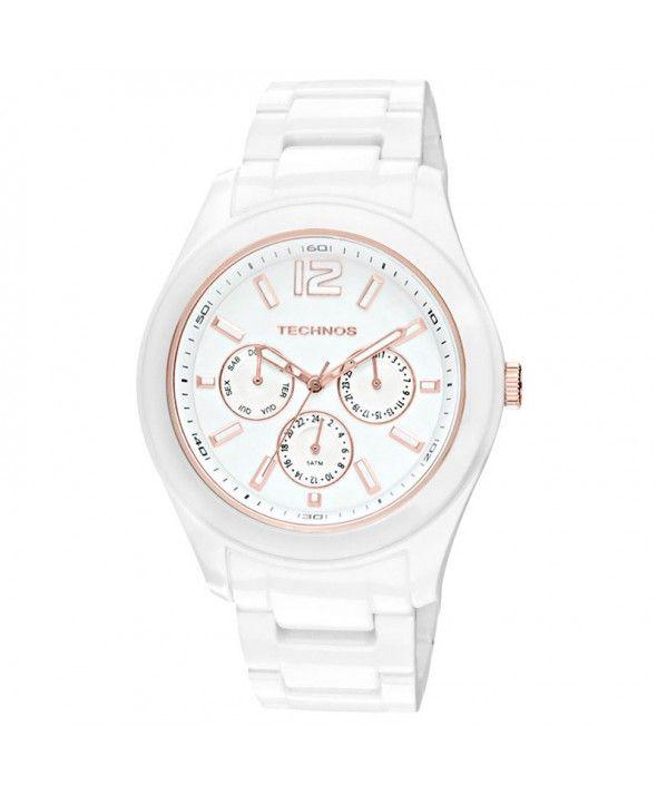 Relógio Technos Feminino Ceramic Sapphire GM10IJ 1B   Relogios ... 6a33def138