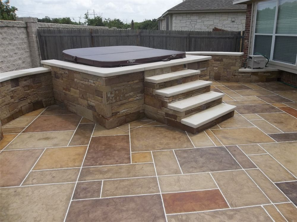 Patios Decks And Enclosures With Images Hot Tub Outdoor Hot