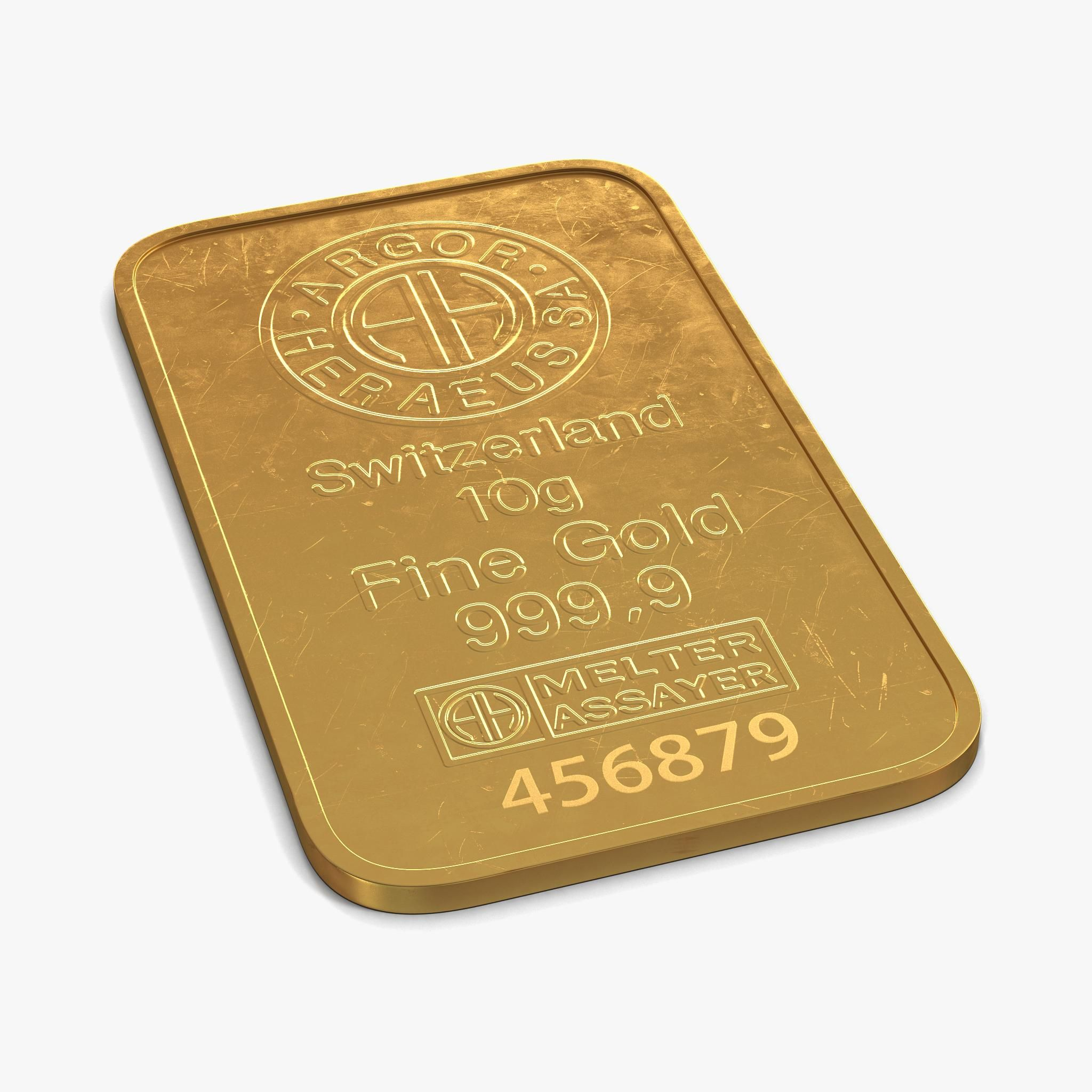 Gold Bar 10g 3d Model Ad Bar Gold Model Visual Design Trends Gold Models 3d Model